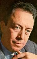 Writer Albert Camus, filmography.