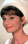 Actress Audrey Hepburn, filmography.