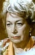 Actress Blazenka Katalinic, filmography.