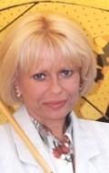 Actress Cecilia Esztergalyos, filmography.