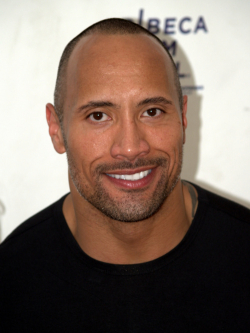 Actor, Producer Dwayne Johnson, filmography.