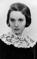 Actress, Producer Elisabeth Bergner, filmography.