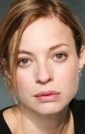Actress Elodie Frenck, filmography.