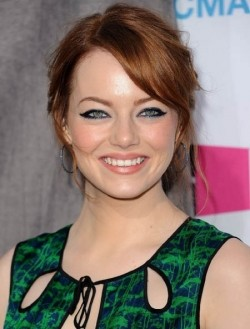 Actress Emma Stone, filmography.