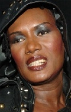 Actress Grace Jones, filmography.