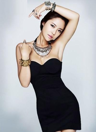 Actress Hwang Jeong Eum, filmography.