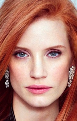 Actress, Producer Jessica Chastain, filmography.