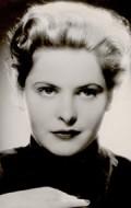 Actress Johanna Matz, filmography.