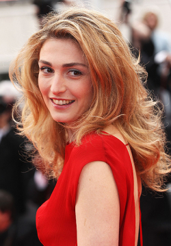 Actress, Producer Julie Gayet, filmography.