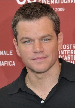 Actor, Writer, Producer, Editor Matt Damon, filmography.