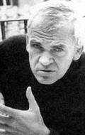 Writer Milan Kundera, filmography.