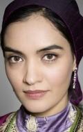 Actress Mitra Hajjar, filmography.