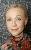 Actress Piret Kalda, filmography.