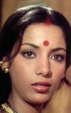 Actress Shabana Azmi, filmography.