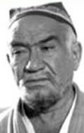 Actor Shukur Burkhanov, filmography.