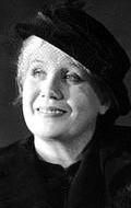 Actress Vera Bykova-Pizhel, filmography.