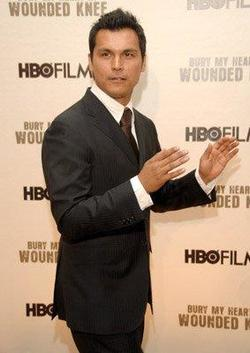 Recent Adam Beach photos