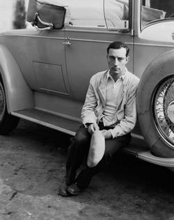 Recent Buster Keaton photos