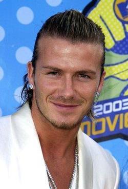 Recent David Beckham photos