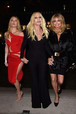 Recent Donatella Versace photos