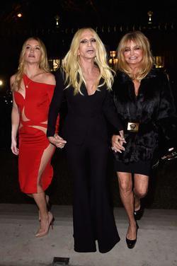 Recent Donatella Versace photos