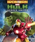 Iron Man & Hulk: Heroes United - wallpapers.