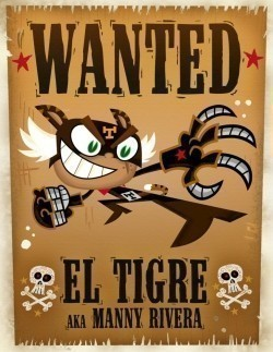 El Tigre: The Adventures of Manny Rivera - wallpapers.