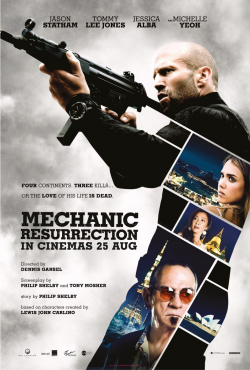Mechanic: Resurrection - wallpapers.