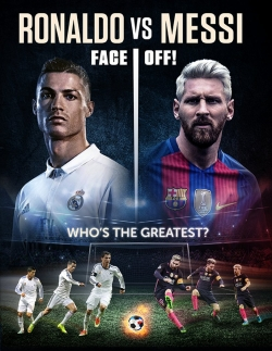 Ronaldo vs. Messi pictures.